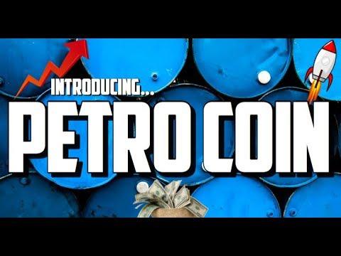 Venezuela PETRO Crypto Coin/Token is REVOLUTIONARY Pre-Sale Today Oil Backed Blockchain   CryptoBot