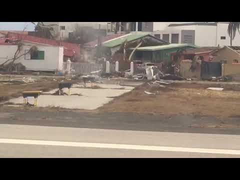 St. Maarten devastation after Irma