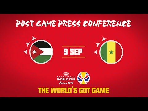 Jordan v Senegal - Press Conference - FIBA Basketball World Cup