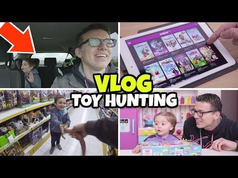 TOY HUNTING VLOG: andiamo a caccia di giocattoli con NOW TV