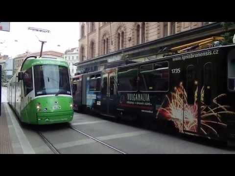 Tramvaje v Brně 2013/Trams in Brno 2013