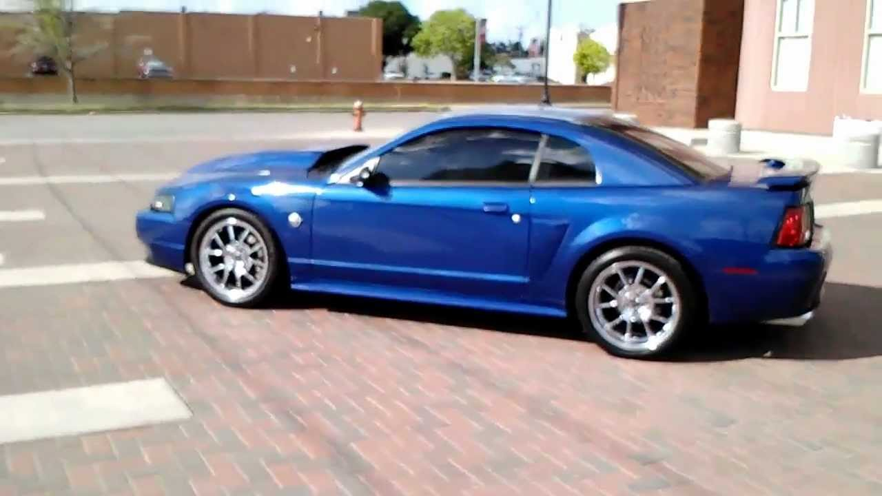 2004 modded sonic blue mustang gt walk around youtube