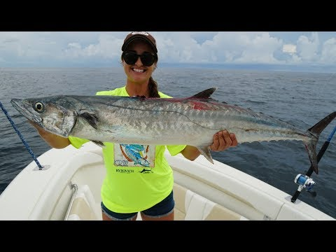 Female Angler Catches Tournament Winning Kingfish! Palm Beach Florida