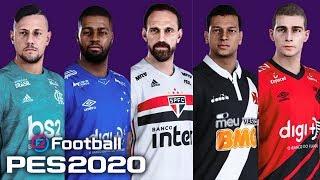 PES 2020 - FACES REAIS DO BRASILEIRÃO
