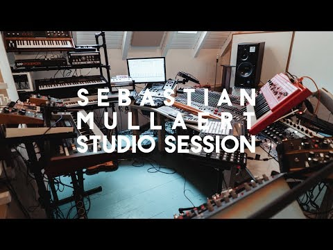 Sebastian Mullaert studio session