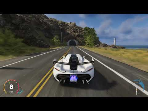 The Crew 2 – Koenigsegg Jesko Chasing A Bugatti Chiron At Big Sur, California