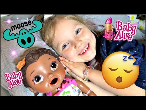 BABY ALIVE gets a SURPRISE from MOOSE TOYS! The Lilly and Mommy Show. The TOYTASTIC Sisters. SKIT