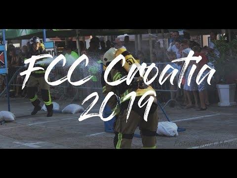 MORJE, VROČINA IN HUDA TEKMA ~ FCC Croatia 2019 l #ChallengeVlog
