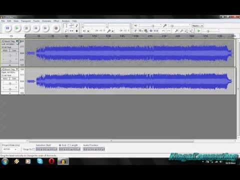 ..::How To Make A Karaoke Track Using Audacity::..:watfile.com