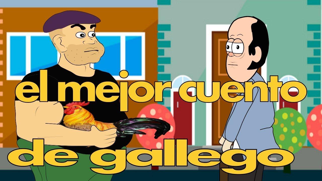 el mejor cuento de gallego | silverio animation | animacion de francis silverio