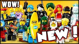 NEW CHARACTERS! LEGO Minifigures Series 16 Blind BagS 2!