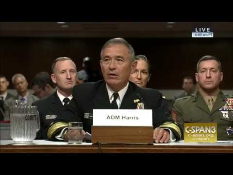 Admiral Harris; 'I Need High Power Options' North Korea WILL fire a Nuclear Weapon