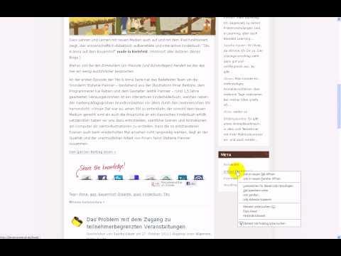 ILIAS 4.2 - Webfeed für Kurs erstellen