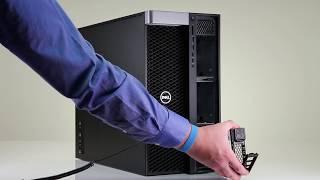 Dell Precision 7920: Add Hard Drives to 5.25