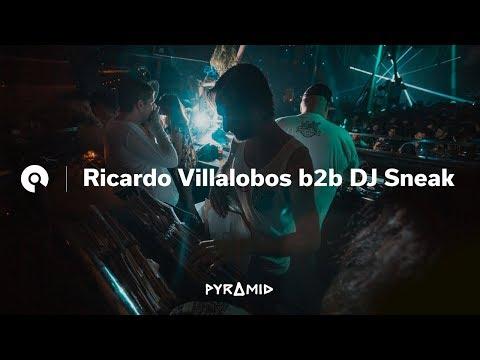 Ricardo Villalobos b2b DJ Sneak @ Pyramid  Amnesia Ibiza  2018 BEAT.TV