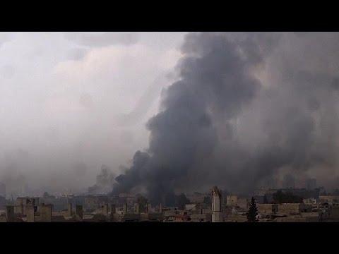 Kämpfe im Osten von Damaskus ausgebrochen