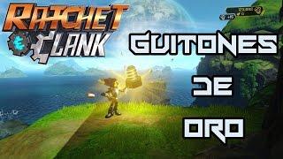 Ratchet y Clank PS4 - Todos los guitones de Oro! (guía)