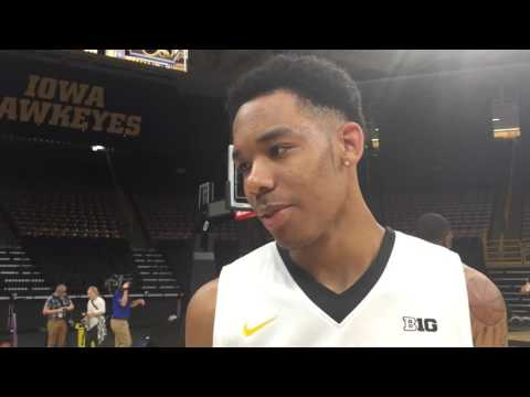 Christian Williams on Iowa's point guard situation