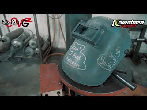 Custom Knalpot Titanium By Kawahara , Kita Bisa...!!!