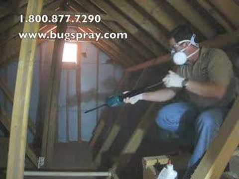 Gilmor Pump Duster used in attic