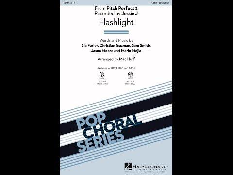 Flashlight (SATB) - Arranged by Mac Huff