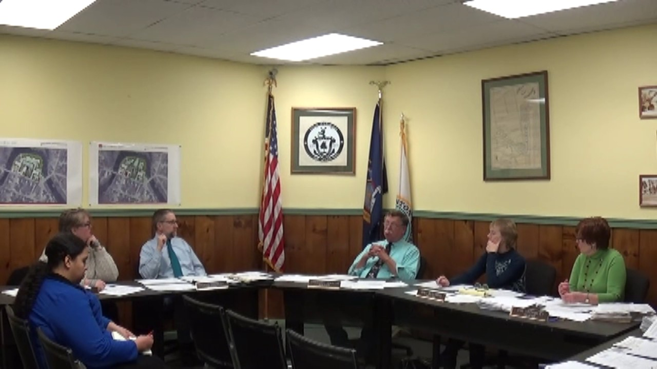 Champlain Village Board Meeting  2-13-17
