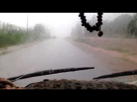 Travelling during rain in Nigeria