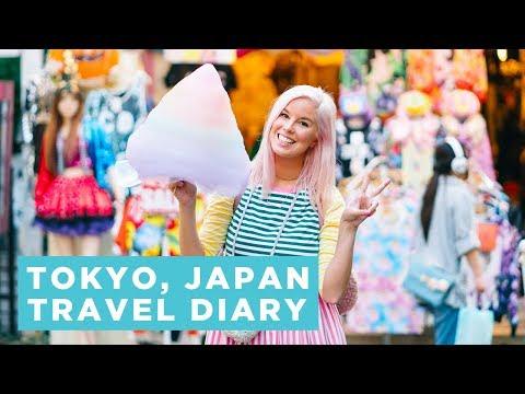 Tokyo, Japan Travel Diary - A Day of Exploring