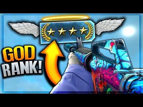 CS:GO GOD RANK UP! (CS:GO Competitive)