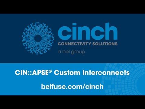 Cinch Connectivity Solutions CIN::APSE Solderless, High Density, Custom Interconnects