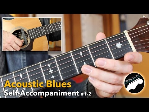 Solo Blues Guitar Lesson for Beginners – Routines 1-2