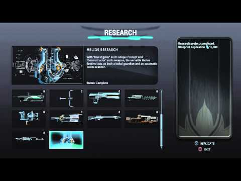 Warframe- Energy Lab overview