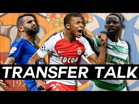 KYLIAN MBAPPÉ Real Madrid Transfer AGREED, DEMBELÉ to Marseille & MAHREZ to Roma? - TRANSFER TALK!