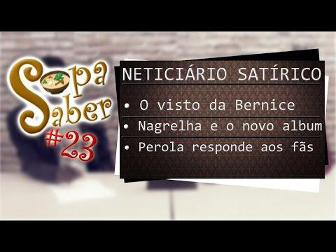 SOPA SABER (NETiciário Satírico) #23 - Com DJI TAFINHA & MAN RENAS
