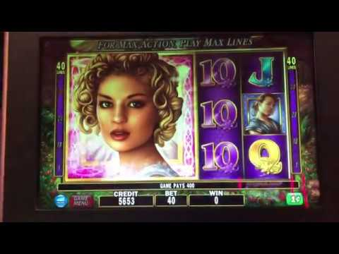 👼 Golden Goddess 😇 Slot Machine @ Resorts World Casino NYC