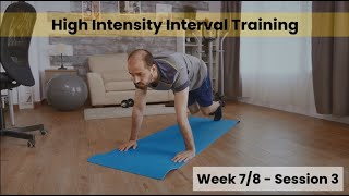 HIIT - Week 7&8 Session 3