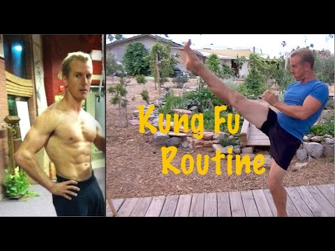 "Real Life ""Mr. Miyagi"" Amazing Kung Fu Routine"