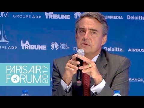 PARIS AIR FORUM | Master Class Alexandre de Juniac - IATA