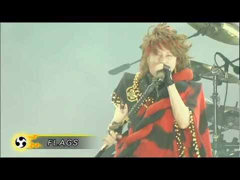 T.Mtion - FLAGS [LIVE at 'Inazuma Rock Fes 2011'] |720p HD|