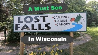 RandomBits RV Park Showcase - Lost Falls Campground - Wisconsin.