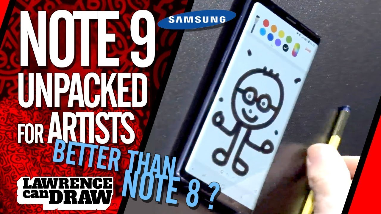 Samsung Note 9 FOR ARTISTS: Unpacked!