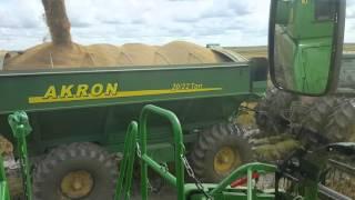 John deere s660 y 8300 cosecha de arroz