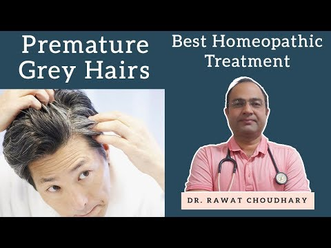 Grey & White Hairs | Premature Grey Hairs | सफेद बाल | Yash Homeopathic Center