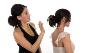 how to style an updo