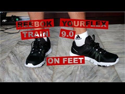 Reebok Yourflex Train 9 0 MT On Feet. Unbox Thrill 467658b69