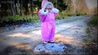 Cute baby fails