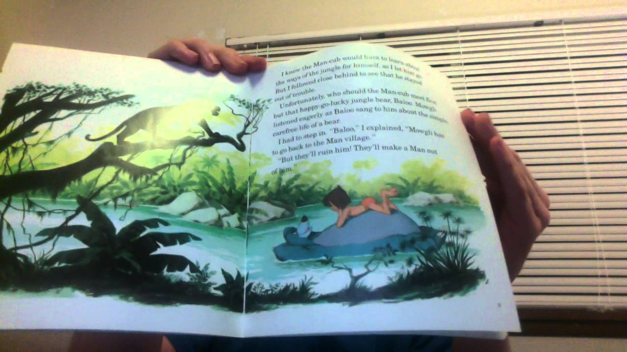 The Jungle Book Read Hot Trending Now