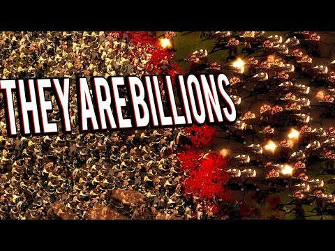 ZOMBIE APOCALYPSE STRATEGY GAME - THEY ARE BILLIONS GAMEPLAY LETS PLAY