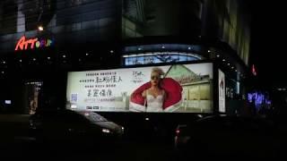紅粉佳人 P!nk 《美麗傷痕 Beautiful Trauma》台北街頭廣告