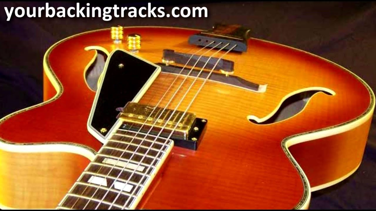 Smooth Jazz Guitar Backing Track In Ab Major    Free Jam Tracks Tcdg